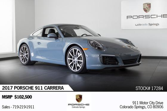 2017 Porsche 911 Carrera:19 car images available