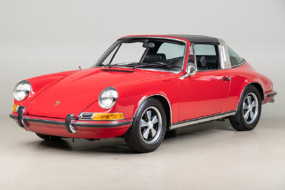 1969 Porsche 911 E:12 car images available