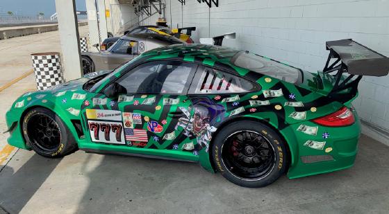 2010 Porsche 911 GT3 Cup Car