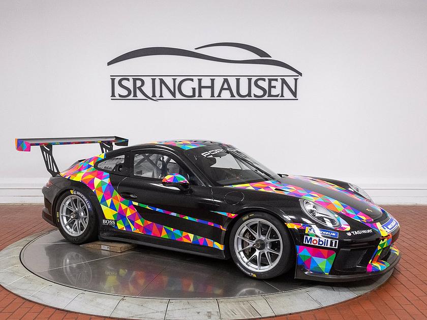 2018 Porsche 911 GT3 Cup Car:20 car images available