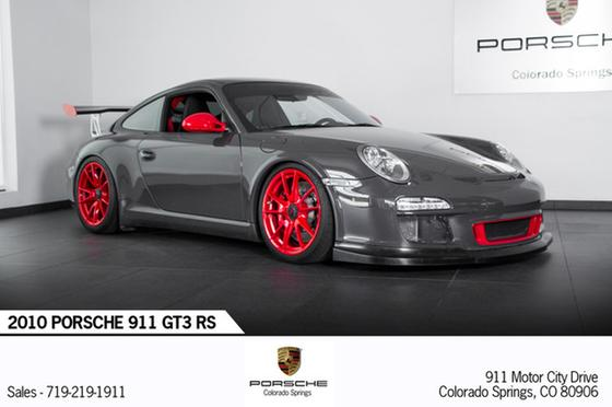 2010 Porsche 911 GT3 RS:24 car images available