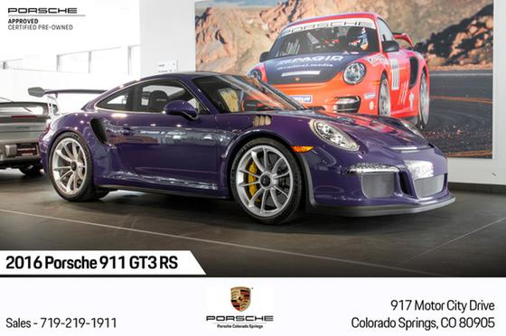 2016 Porsche 911 GT3 RS:13 car images available