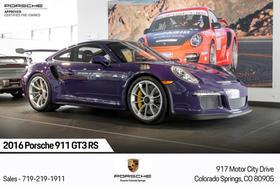 2016 Porsche 911 GT3 RS:13 car images available