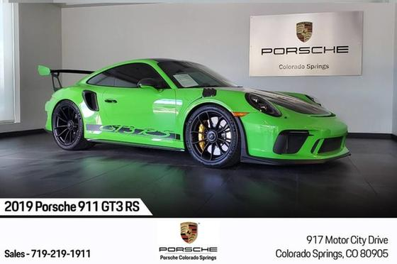 2019 Porsche 911 GT3 RS:20 car images available