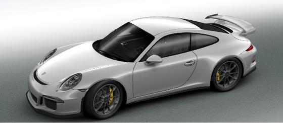 2015 Porsche 911 GT3:4 car images available