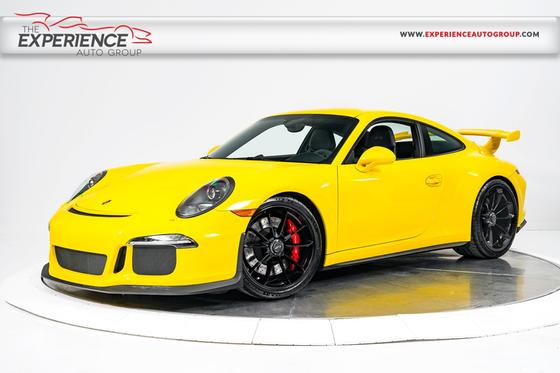 2015 Porsche 911 GT3 : Car has generic photo