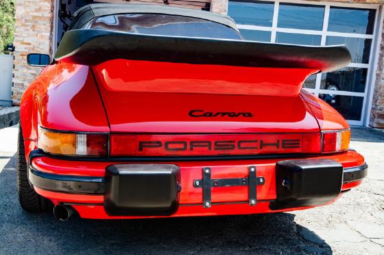 1985 Porsche 911 SC Cabriolet