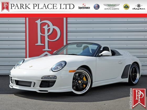 2011 Porsche 911 Speedster:24 car images available