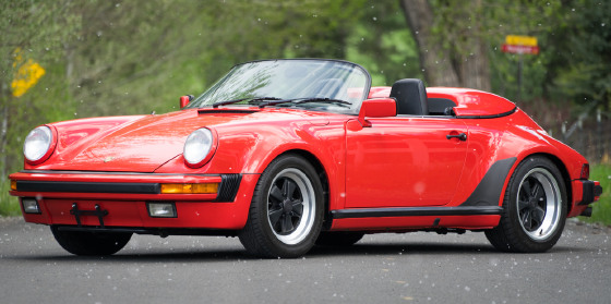 1989 Porsche 911 Speedster:21 car images available
