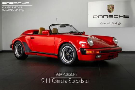 1989 Porsche 911 Speedster:24 car images available
