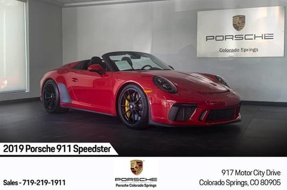 2019 Porsche 911 Speedster:24 car images available