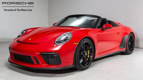 2019 Porsche 911 Speedster:22 car images available