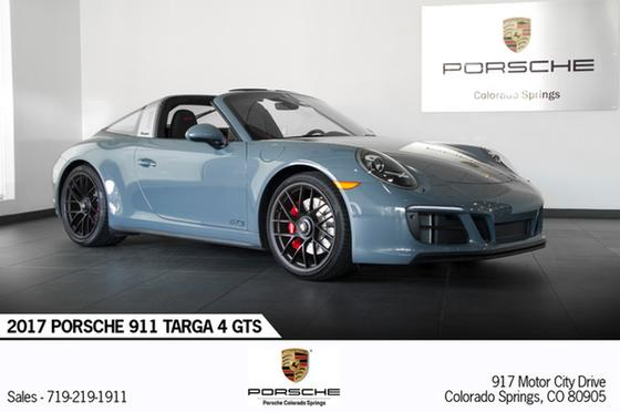 2017 Porsche 911 Targa 4 GTS:24 car images available