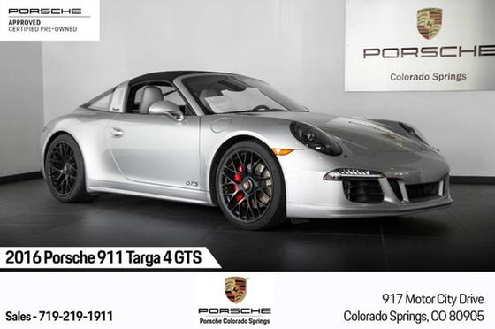 2016 Porsche 911 Targa 4 GTS:24 car images available