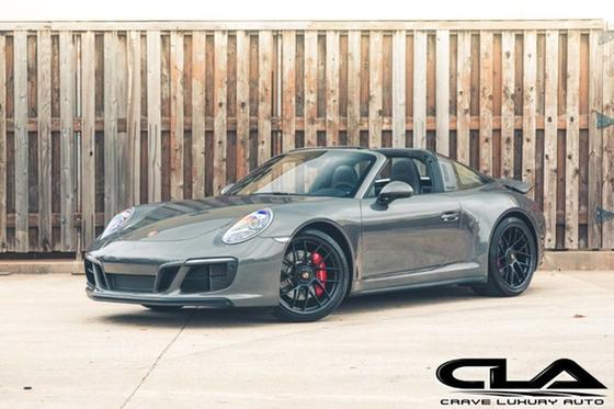 2019 Porsche 911 Targa 4 Gts For Sale In The Woodlands Tx Global Autosports