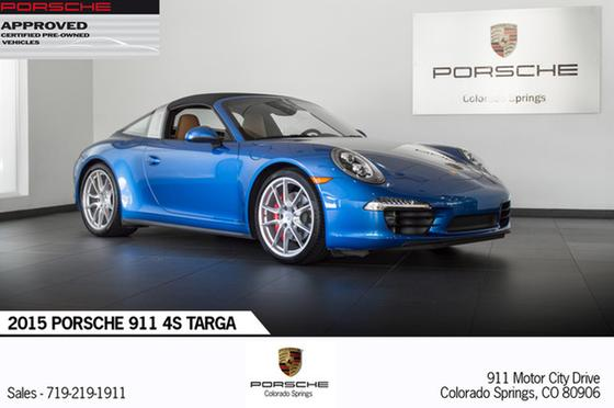 2015 Porsche 911 Targa 4S:19 car images available