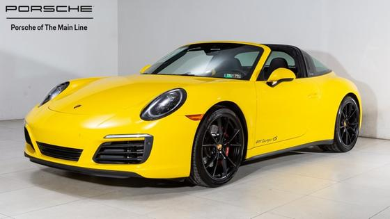 2018 Porsche 911 Targa 4S:22 car images available