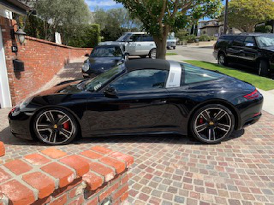 2017 Porsche 911 Targa 4S:6 car images available