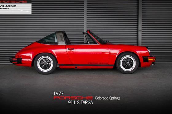 1977 Porsche 911 Targa:24 car images available