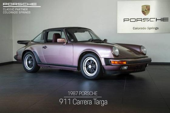 1987 Porsche 911 Targa:24 car images available