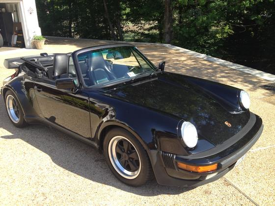 1988 Porsche 911 Turbo Cabriolet:24 car images available