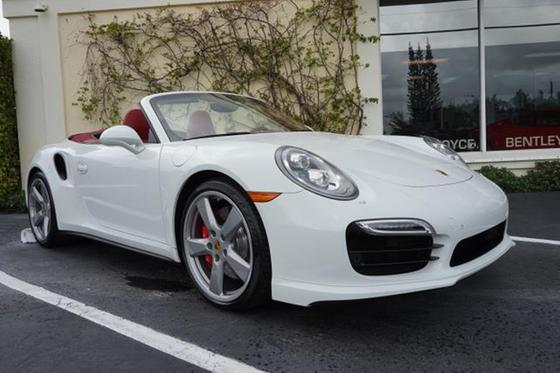 2016 Porsche 911 Turbo Cabriolet:12 car images available