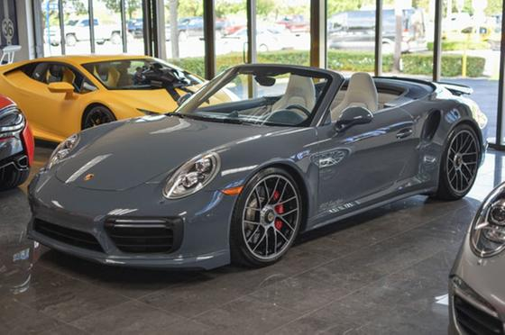 2017 Porsche 911 Turbo Cabriolet:24 car images available