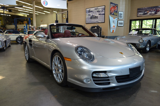 2010 Porsche 911 Turbo Cabriolet:24 car images available