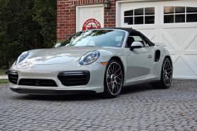 2018 Porsche 911 Turbo Cabriolet