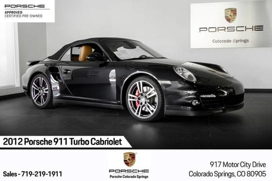 2012 Porsche 911 Turbo Cabriolet:24 car images available
