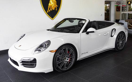 2015 Porsche 911 Turbo Cabriolet:24 car images available