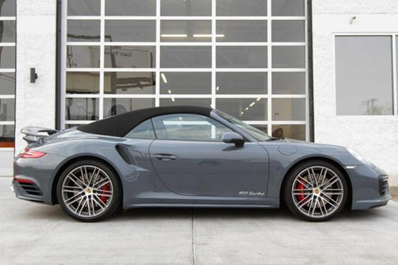 2017 Porsche 911 Turbo Cabriolet:12 car images available