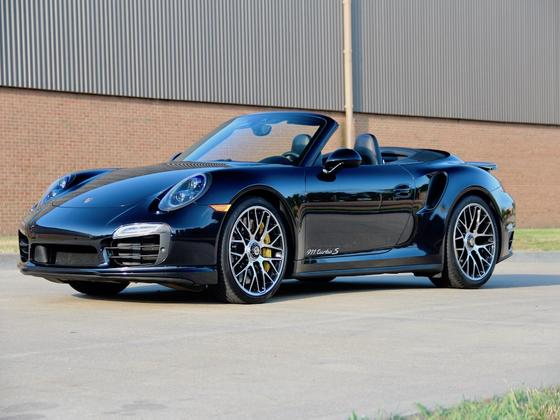 2016 Porsche 911 Turbo S Cabriolet:10 car images available