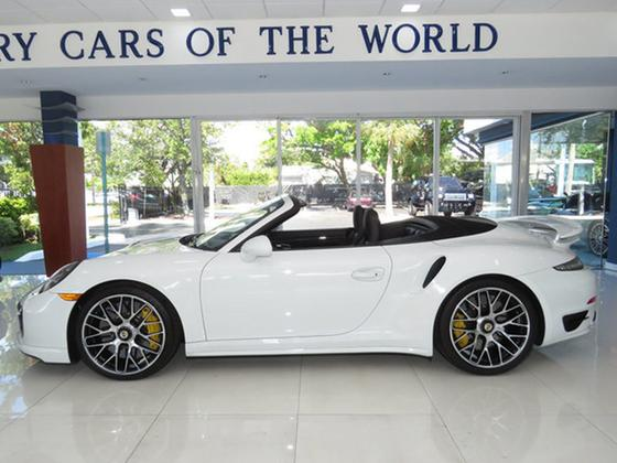 2016 Porsche 911 Turbo S Cabriolet:24 car images available