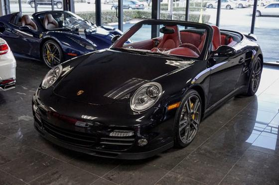 2013 Porsche 911 Turbo S Cabriolet:18 car images available