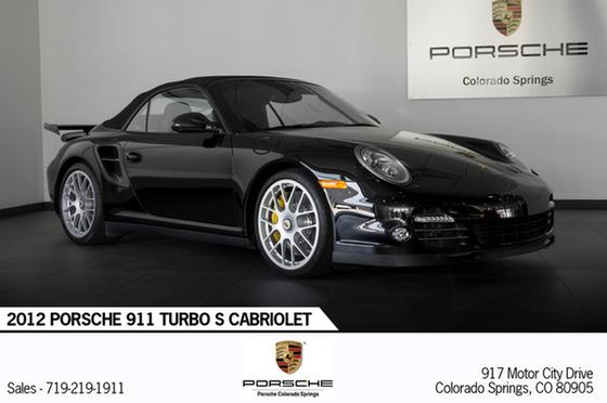 2012 Porsche 911 Turbo S Cabriolet:24 car images available
