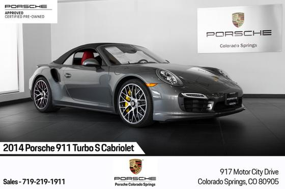 2014 Porsche 911 Turbo S Cabriolet:24 car images available