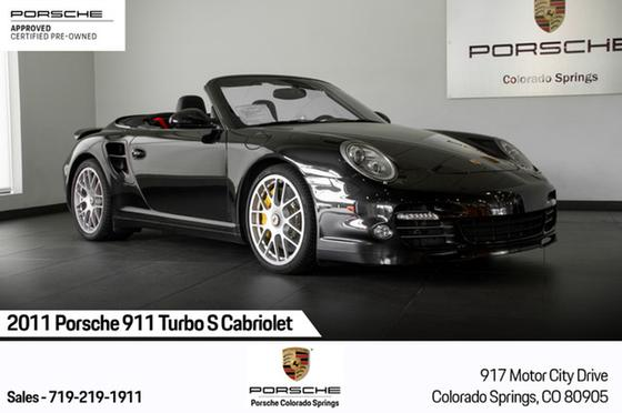 2011 Porsche 911 Turbo S Cabriolet:21 car images available