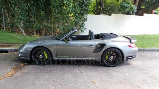 2012 Porsche 911 Turbo S Cabriolet:23 car images available