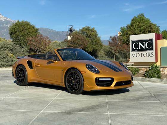 2019 Porsche 911 Turbo S Cabriolet:24 car images available
