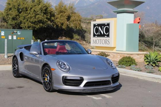 2018 Porsche 911 Turbo S Cabriolet:24 car images available