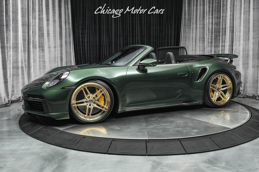 2021 Porsche 911 Turbo S Cabriolet:24 car images available