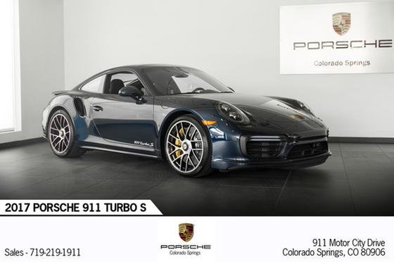 2017 Porsche 911 Turbo S:23 car images available