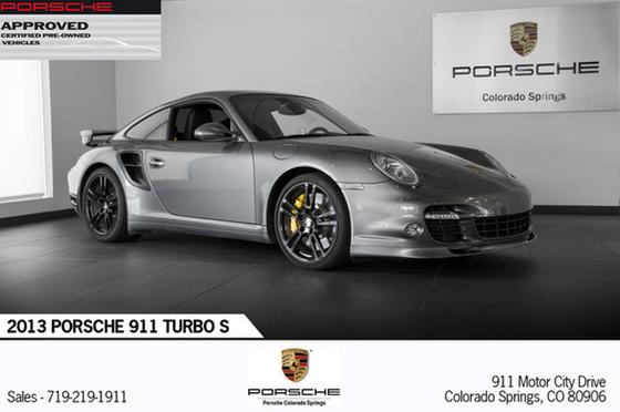 2013 Porsche 911 Turbo S:24 car images available