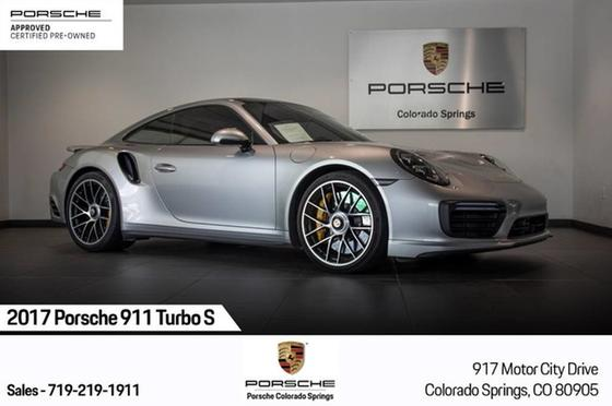 2017 Porsche 911 Turbo S:16 car images available