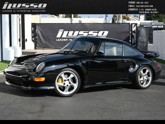 1997 Porsche 911 Turbo S:6 car images available