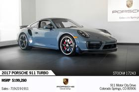2017 Porsche 911 Turbo:24 car images available