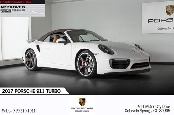 2017 Porsche 911 Turbo:20 car images available