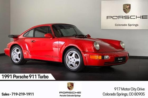 1991 Porsche 911 Turbo:23 car images available
