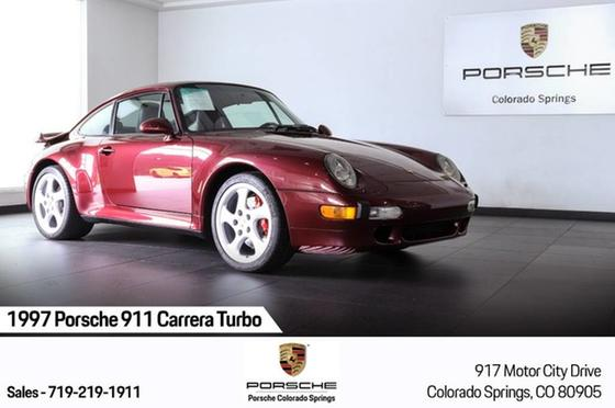 1997 Porsche 911 Turbo:24 car images available